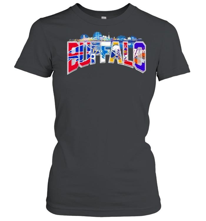 City Team Football Buffalo Bills shirt Classic Women's T-shirt
