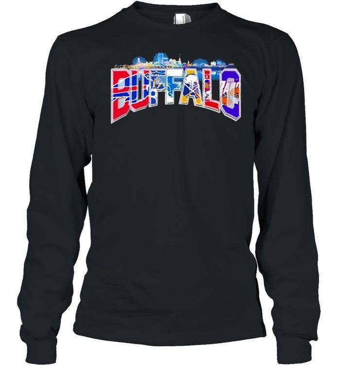 City Team Football Buffalo Bills shirt Long Sleeved T-shirt