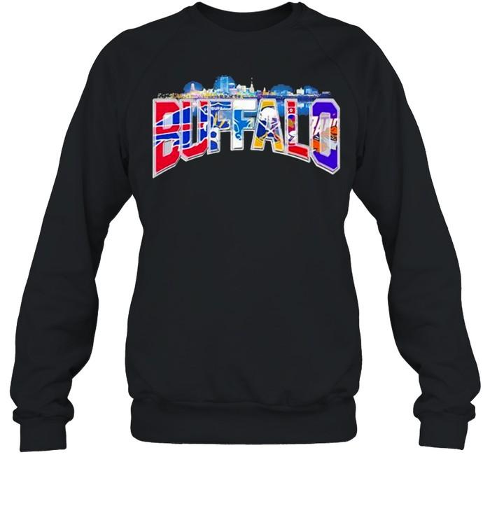 City Team Football Buffalo Bills shirt Unisex Sweatshirt