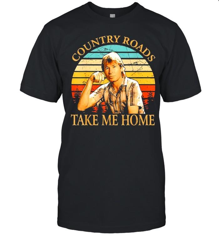 Country Roads Take Me Home Vintage shirt