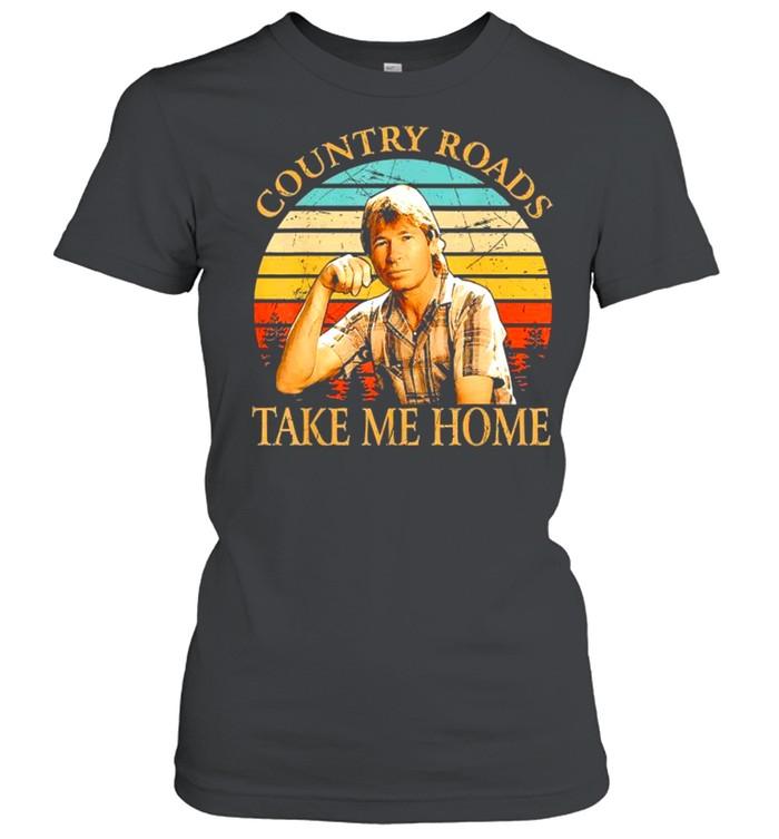 Country Roads Take Me Home Vintage shirt Classic Women's T-shirt