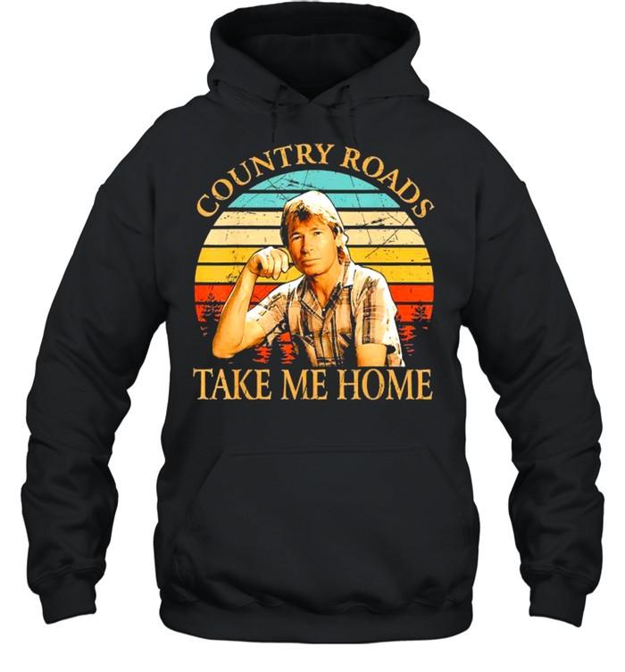 Country Roads Take Me Home Vintage shirt Unisex Hoodie