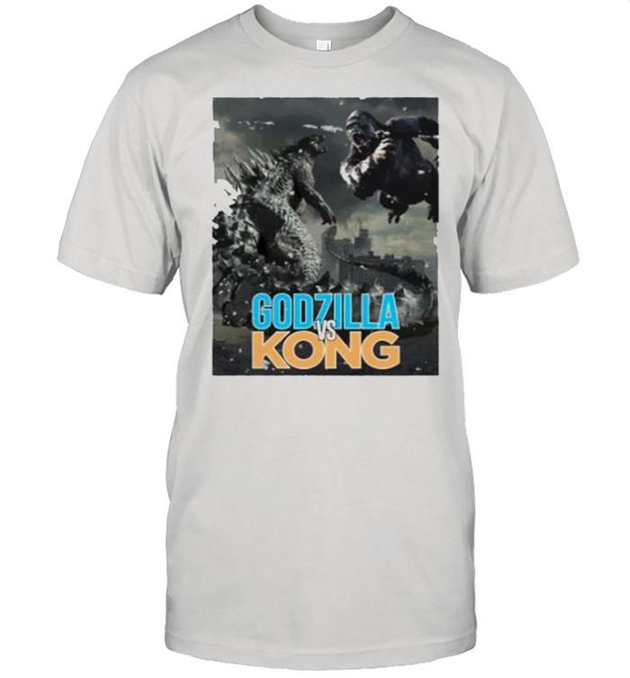 Godzilla vs King Kong Grunge 2021 shirt