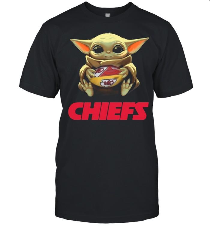 2021 Baby Yoda Hug Rugby Chiefs shirt