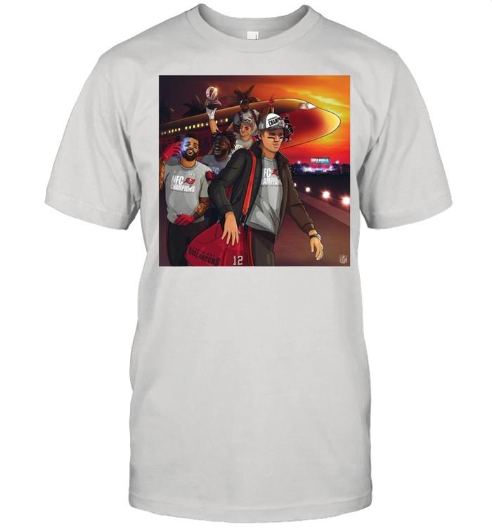 Nfc Champions Tampa Bay Buccaneers Super Bowl 2021 shirt