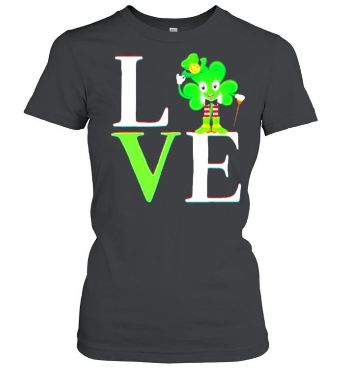 St Patricks day 2021 shamrock love Patricks shirt Classic Women's T-shirt
