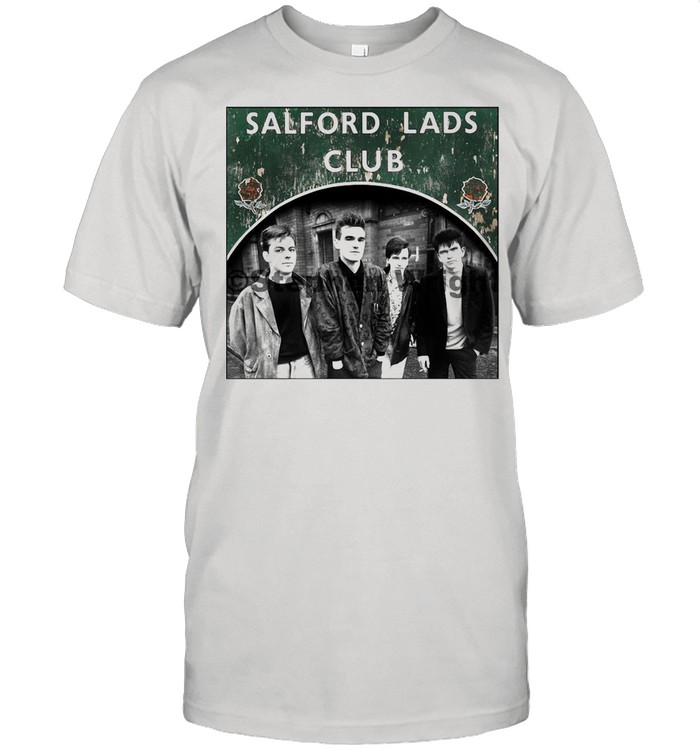 Smiths Salford Lads Club Original Square Print – The Queen Is Dead shirt
