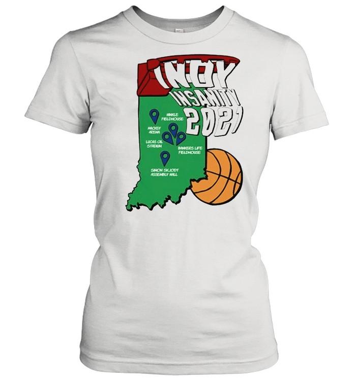 Indy Insanity 2021 Basketball shirt Classic Women's T-shirt