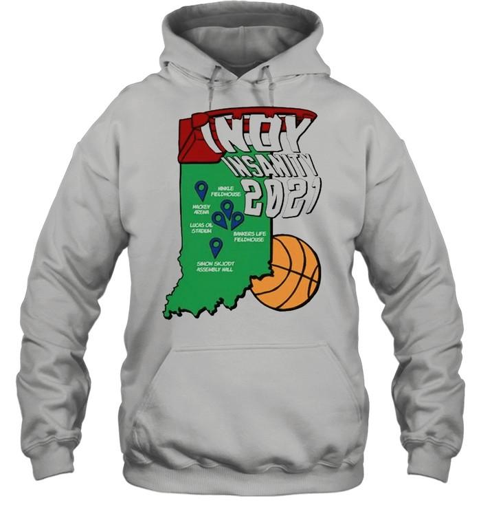 Indy Insanity 2021 Basketball shirt Unisex Hoodie
