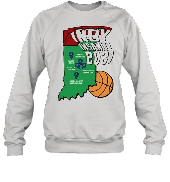 Indy Insanity 2021 Basketball shirt Unisex Sweatshirt