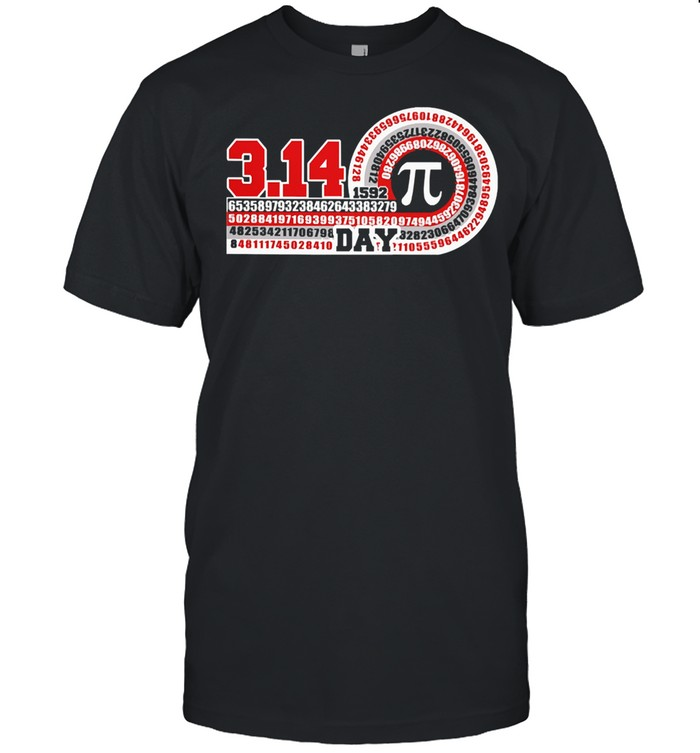 Science pi day shirt
