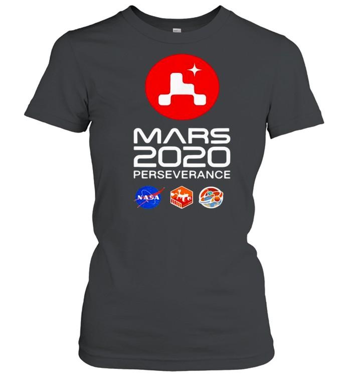 Nasa Mars 2020 Perseverance Rover Mars shirt Classic Women's T-shirt