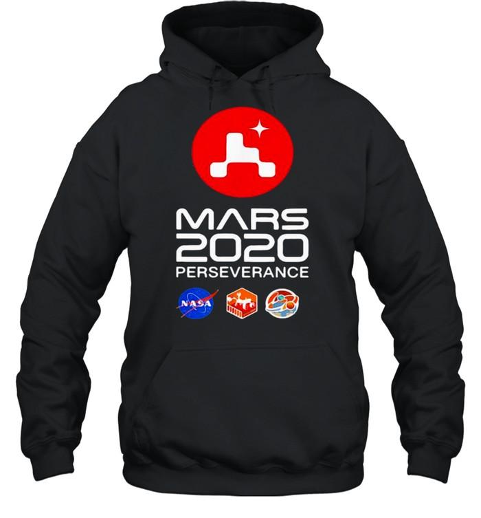 Nasa Mars 2020 Perseverance Rover Mars shirt Unisex Hoodie