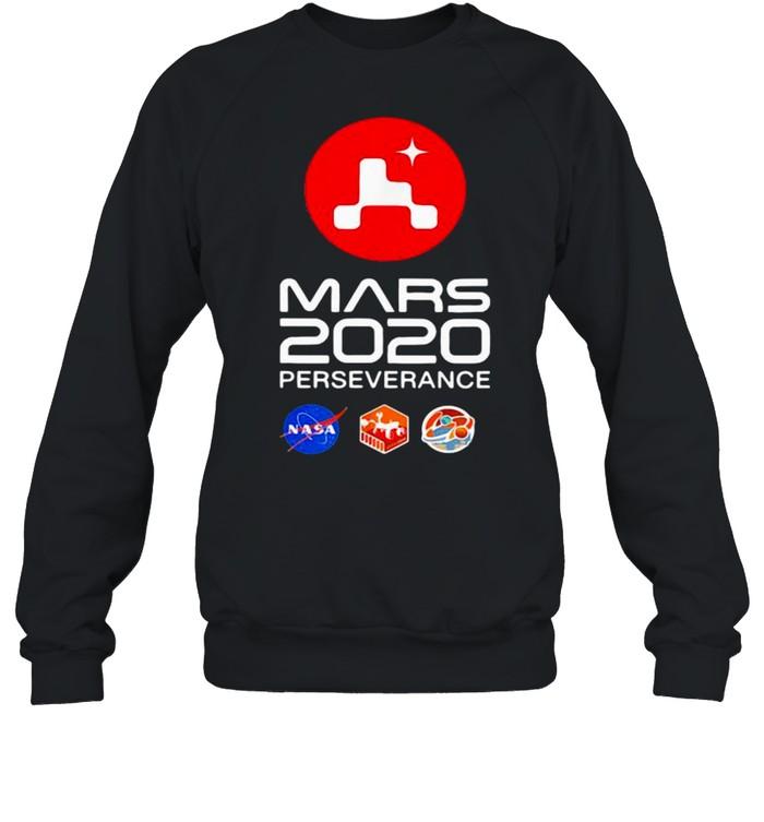 Nasa Mars 2020 Perseverance Rover Mars shirt Unisex Sweatshirt