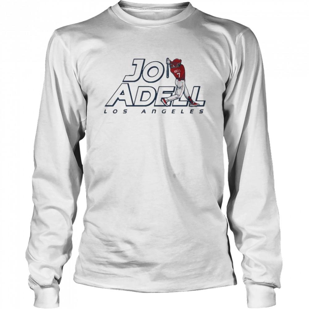 2021 Los Angeles Jo Adell shirt Long Sleeved T-shirt