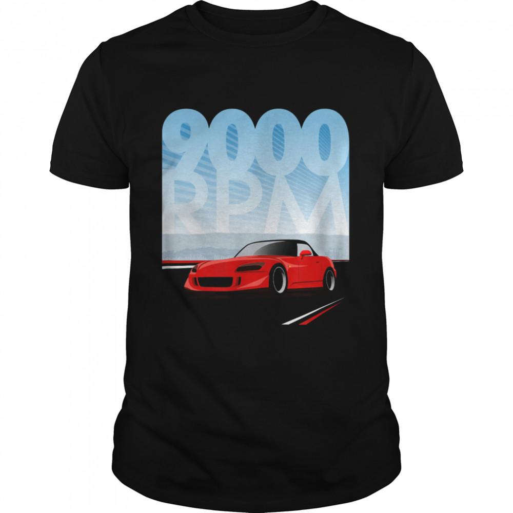 9000 RPM S2000 Shirt