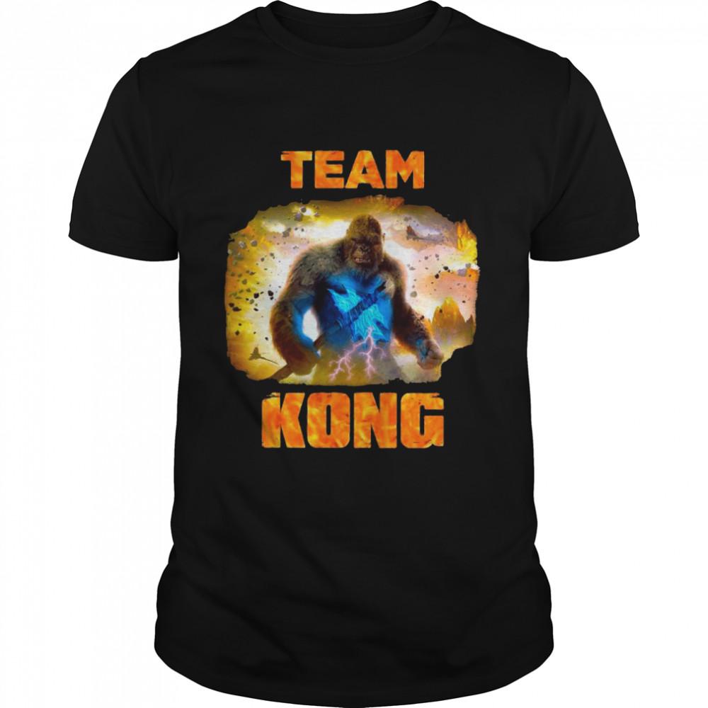 Kong Vs Godzilla Team Kong Lose shirt