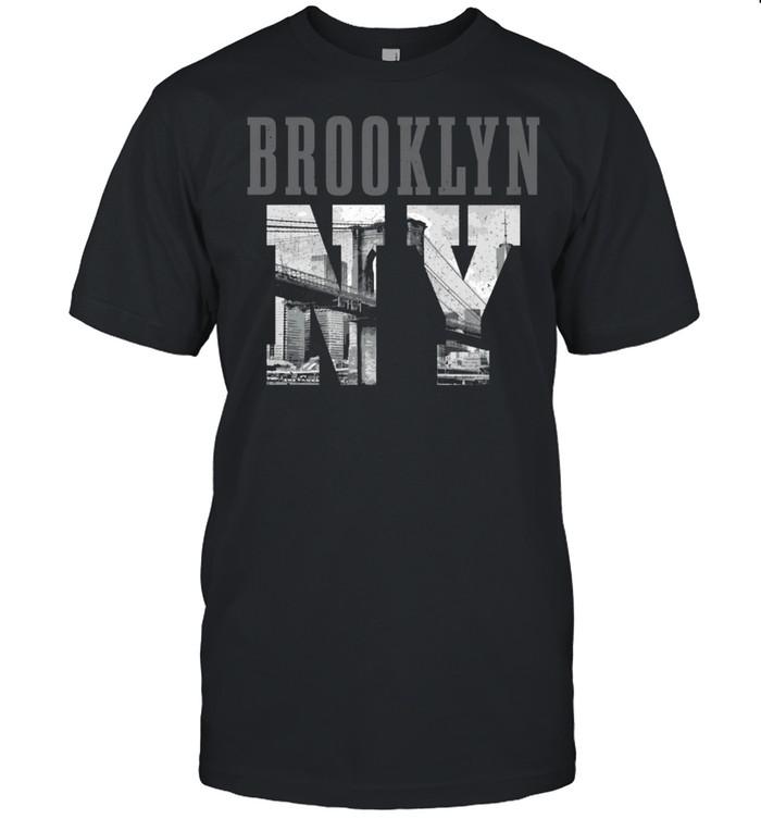 Brooklyn NY NYC New York City Vintage USA Amerika Shirt