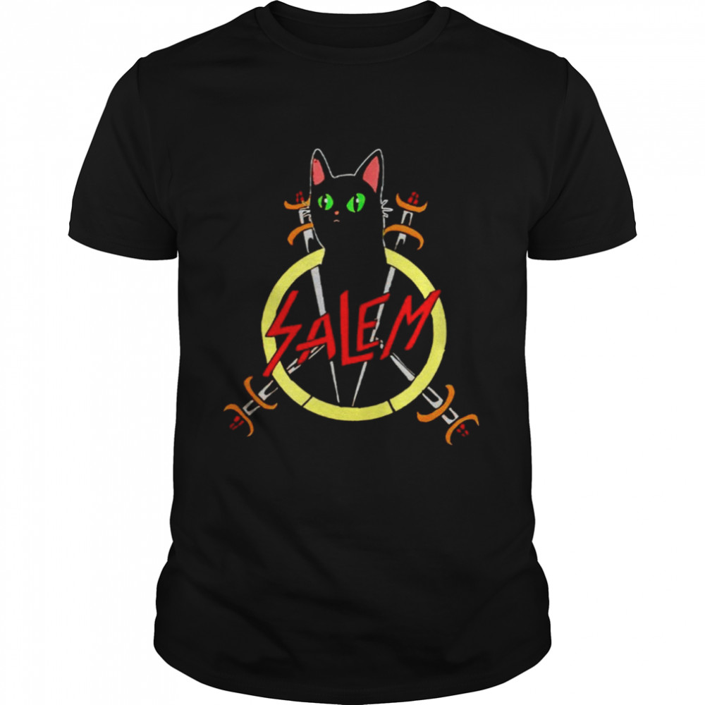 Salem the Slayer cat shirt