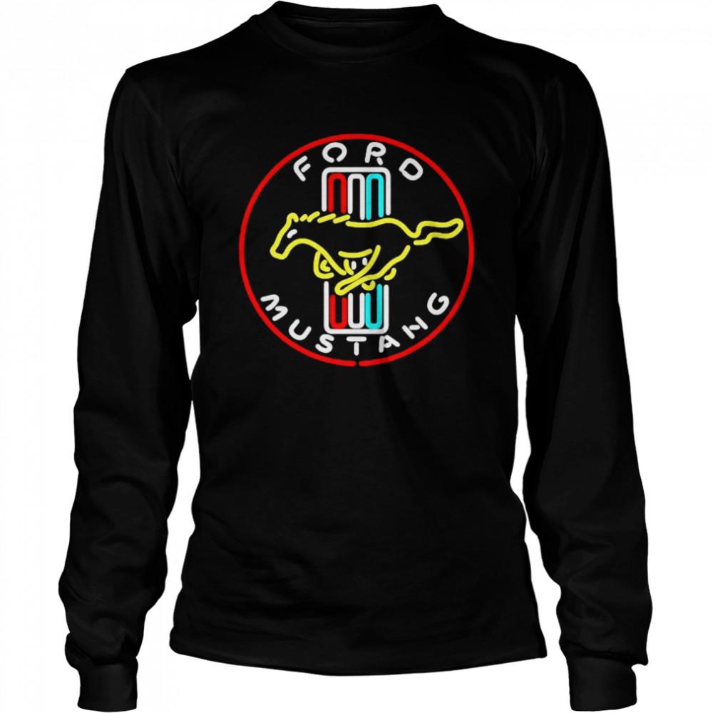 Foro Mustang Horse Logo  Long Sleeved T-shirt