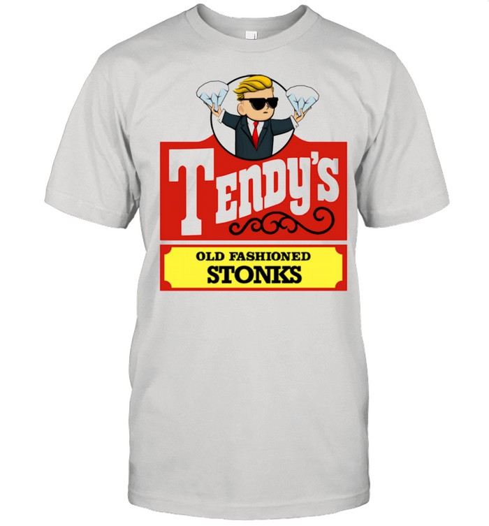 Tendys Stonks Old Fashioned Trader Investing HODL Shirt