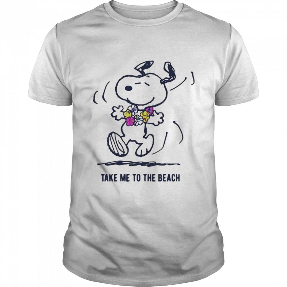 Take Me To The Beach Snoopy Shirt