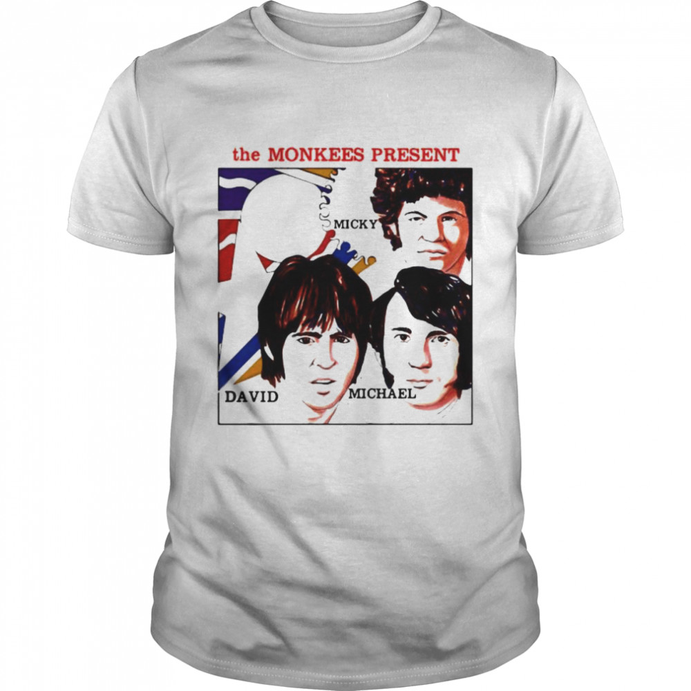 The Monkees Present Micky David And Michael Shirt