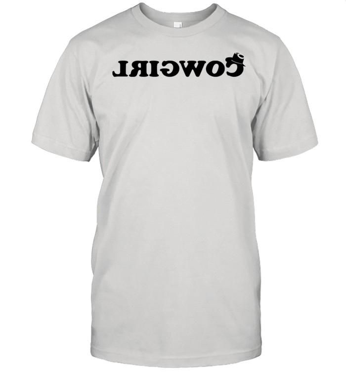 Cowgirl ride backwards shirt