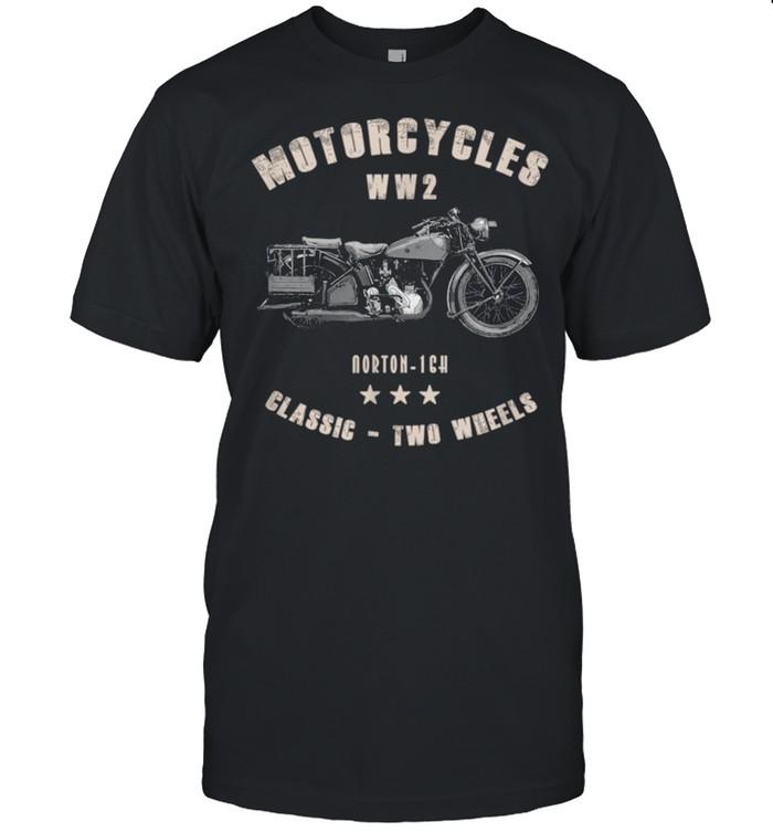 Norton16H Classic Motorcycle WW2 shirt